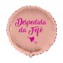Balão Redondo Rose Gold Personalizado para Despedida de Solteira