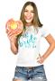 Camiseta Baby look Personalizada Team Bride para Despedida de Solteira