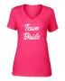Camiseta Baby Look Team Bride Pronta Entrega para Despedida de Solteira