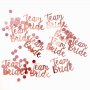 Confete Team Bride Pronta Entrega para Despedida de Solteira