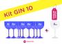 Kit Gin 10 Azul Pronta Entrega para Despedida de Solteira