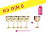 Kit Gin 6 Metalizado Eu Disse Gin/Eu Disse Sim Pronta Entrega para Despedida de Solteira