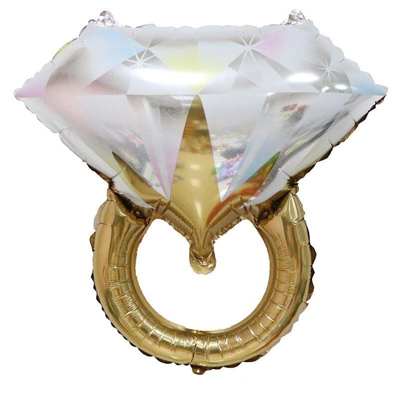 Balão Anel de Diamante Pronta Entrega para Despedida de Solteira