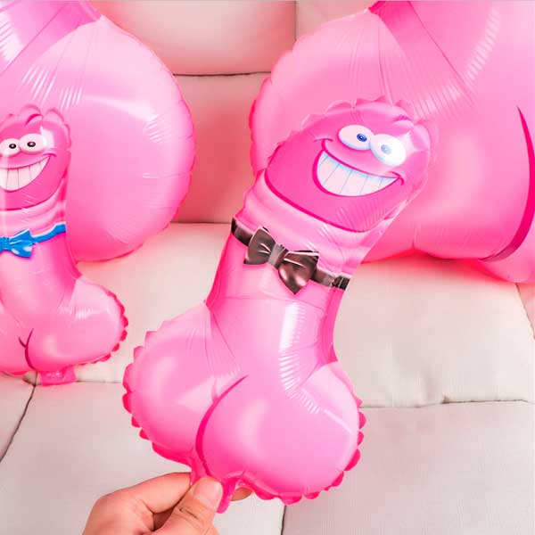 Balão Inflável Dick Elegante Grande Pronta Entrega para Despedida de Solteira