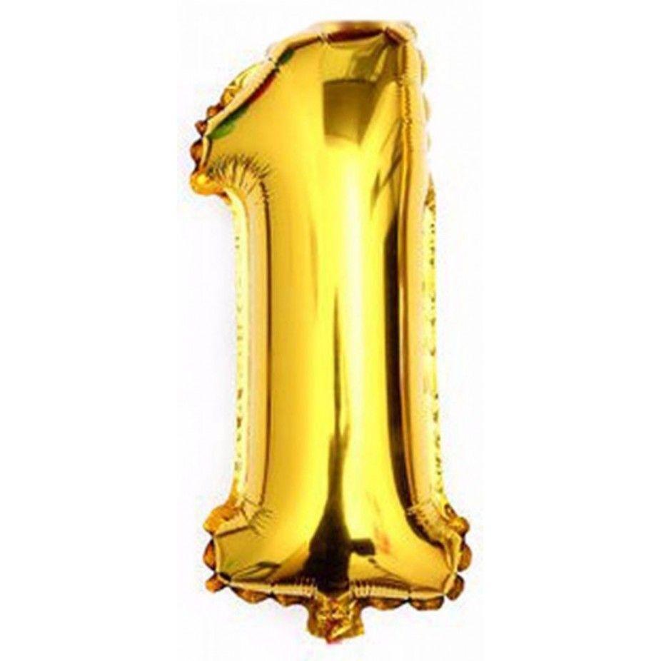 Balão Metalizado em Formato de Número Pronta Entrega para Despedida de Solteira