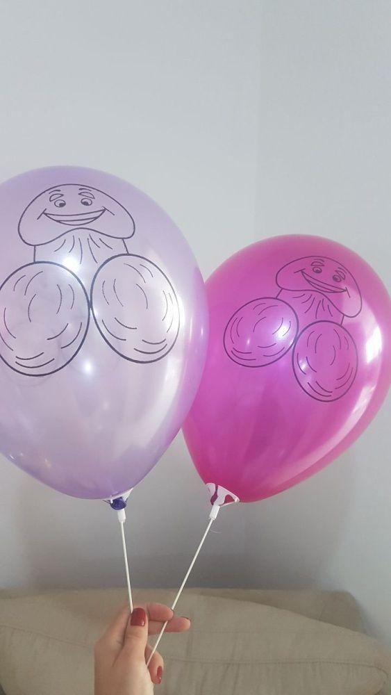 Kit de 8 Balão Pênis Sapequinha para despedida de solteira