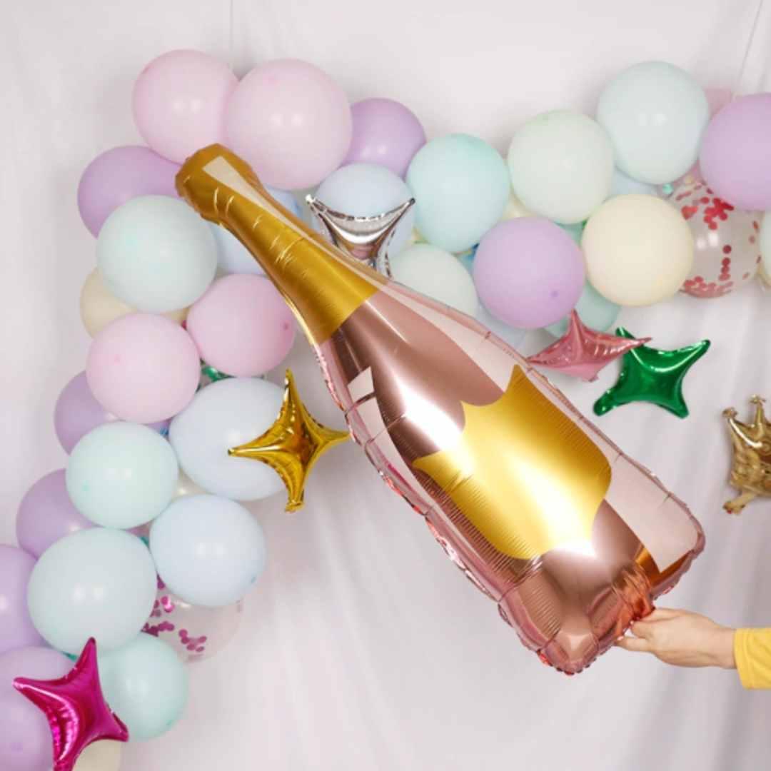 Balão Gigante Garrafa de Champagne