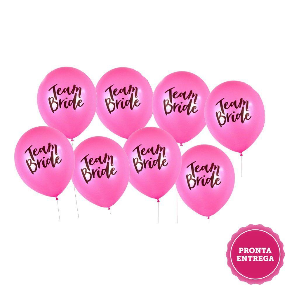 Balão Team Bride Pronta Entrega para Despedida de Solteira
