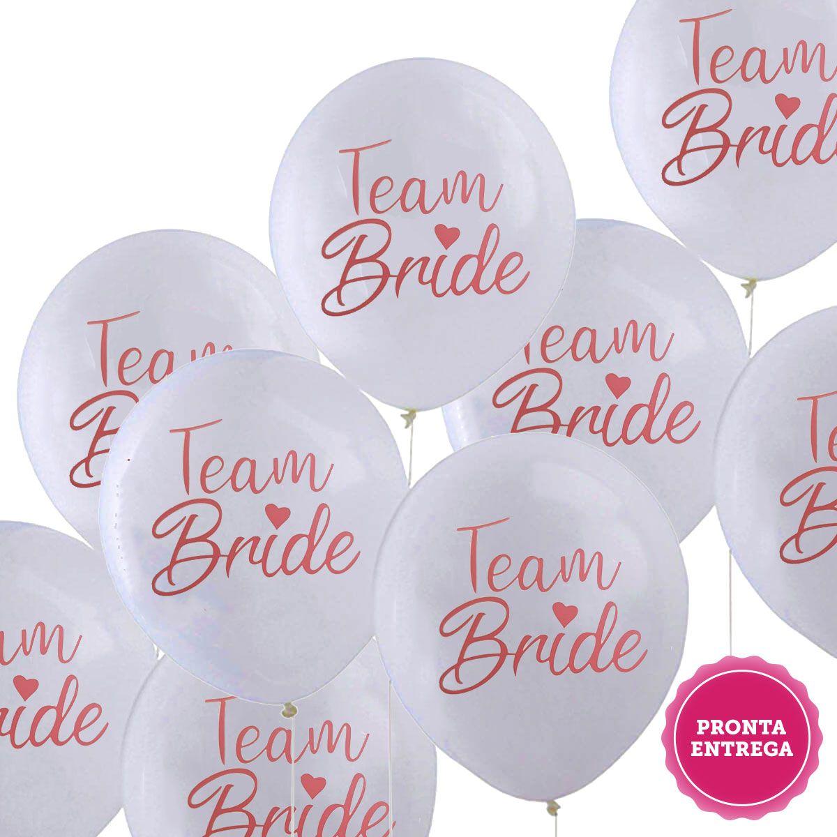 Balão team Bride, Balão decoração Despedida de solteira, Balão decoração chá de Lingerie, Bexiga Decoração Despedida de solteira, Bexiga decoração chá de Lingerie