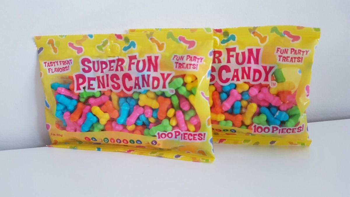 Super fun penis candy gangbang line vintage