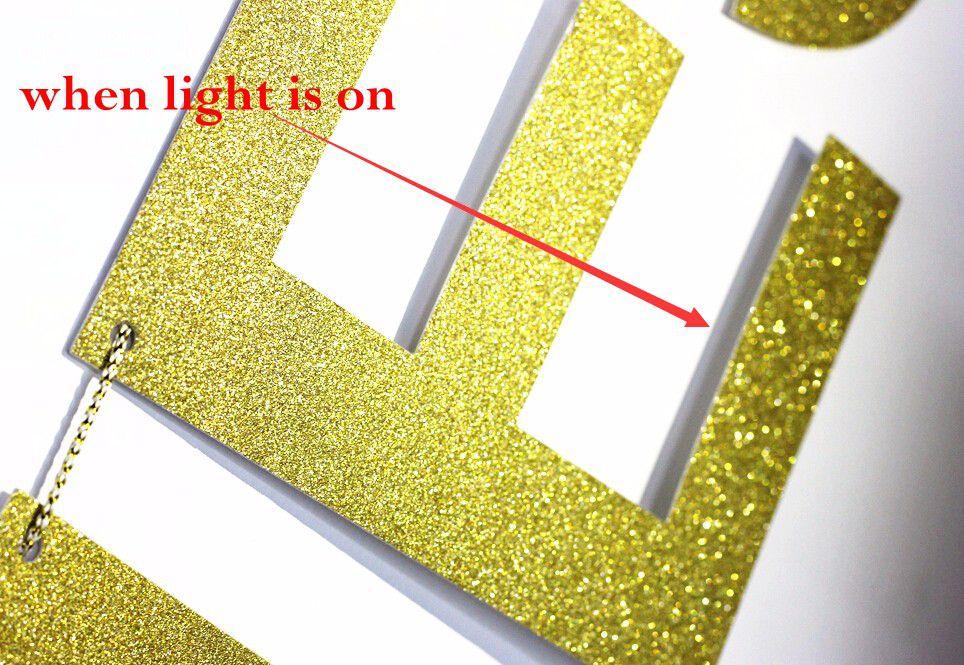 Banner Bride to Be em Glitter Dourado Pronta Entrega para Despedida de Solteira