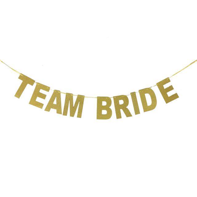 Banner Team Bride, Banner decoração despedida de solteira, Banner decoração chá de lingerie, fundo de mesa chá de lingerie