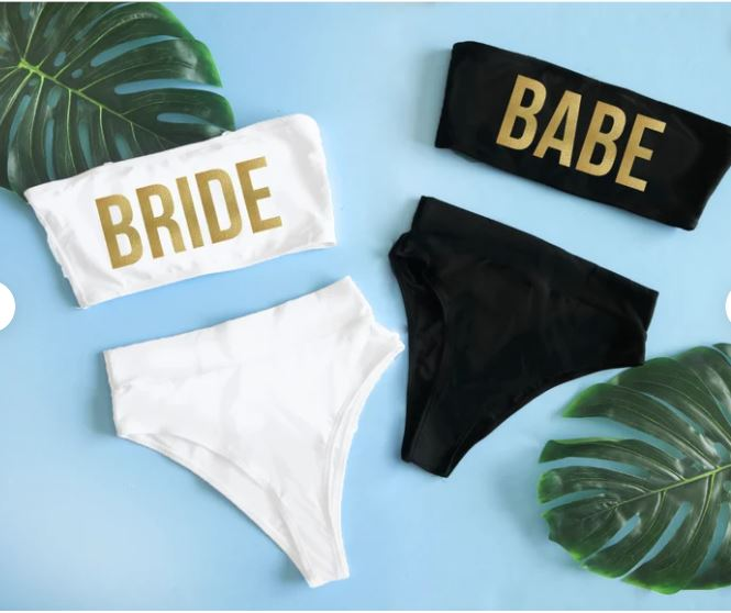 Biquíni hot pants Bride