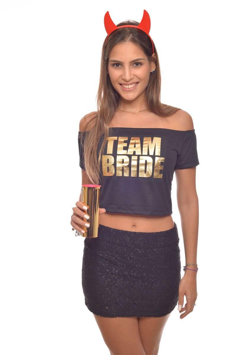 Blusa Cropped Personalizada para Despedida de Solteira