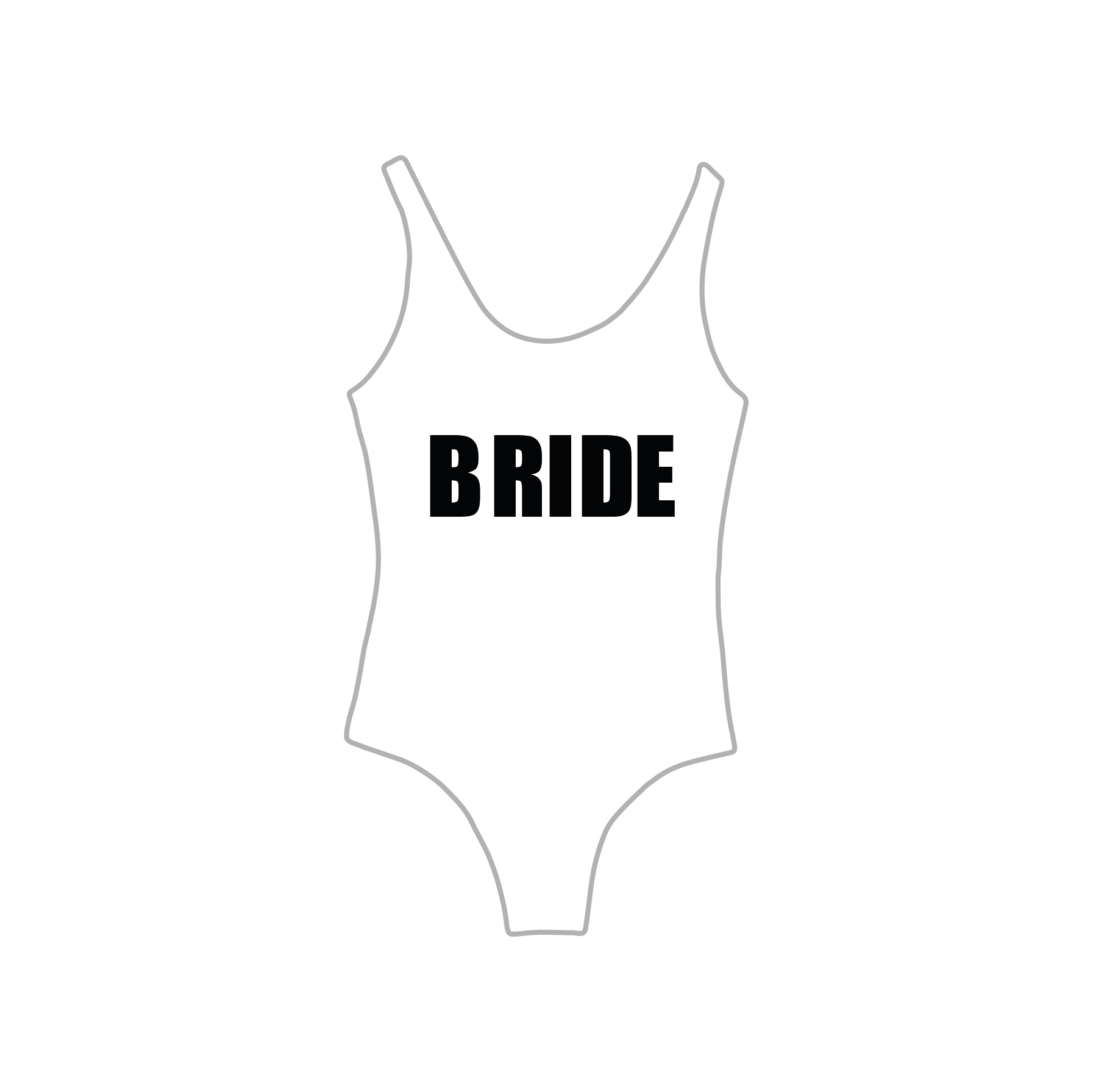 Body Ballet Bride Pronta Entrega para Despedida de Solteira