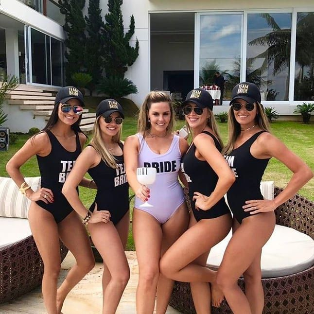 Body Ballet Team Bride Pronta Entrega para Despedida de Solteira