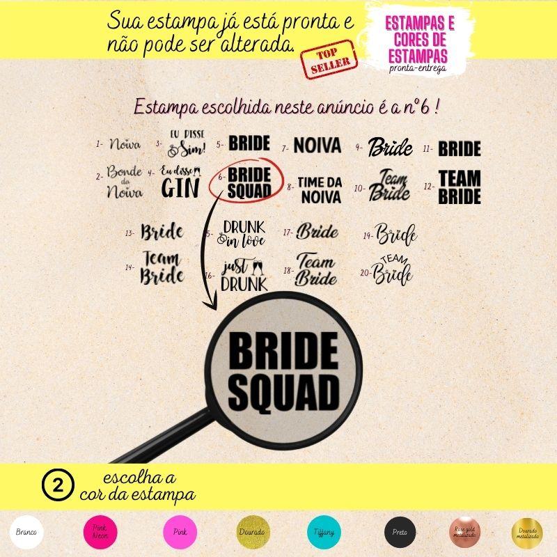 Body Cavado Pronta Entrega Bride Squad 6