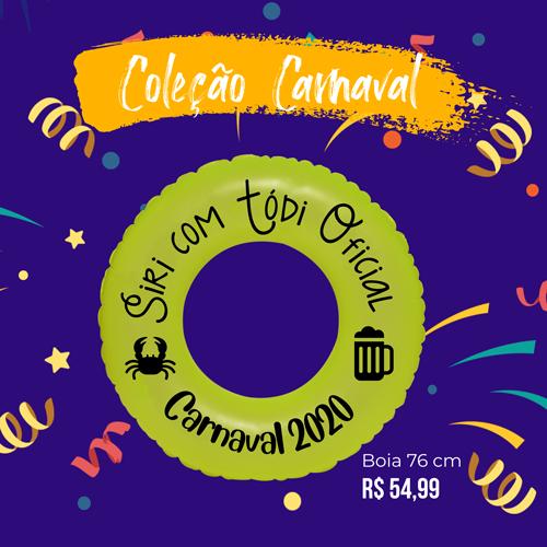 Boia sem Alça Carnaval Personalizada para Despedida de Solteira
