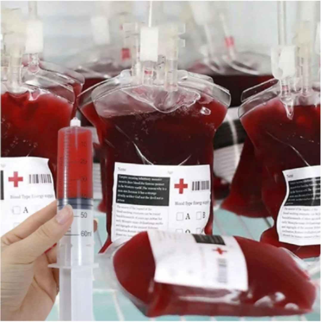 Bolsa de sangue para bebidas