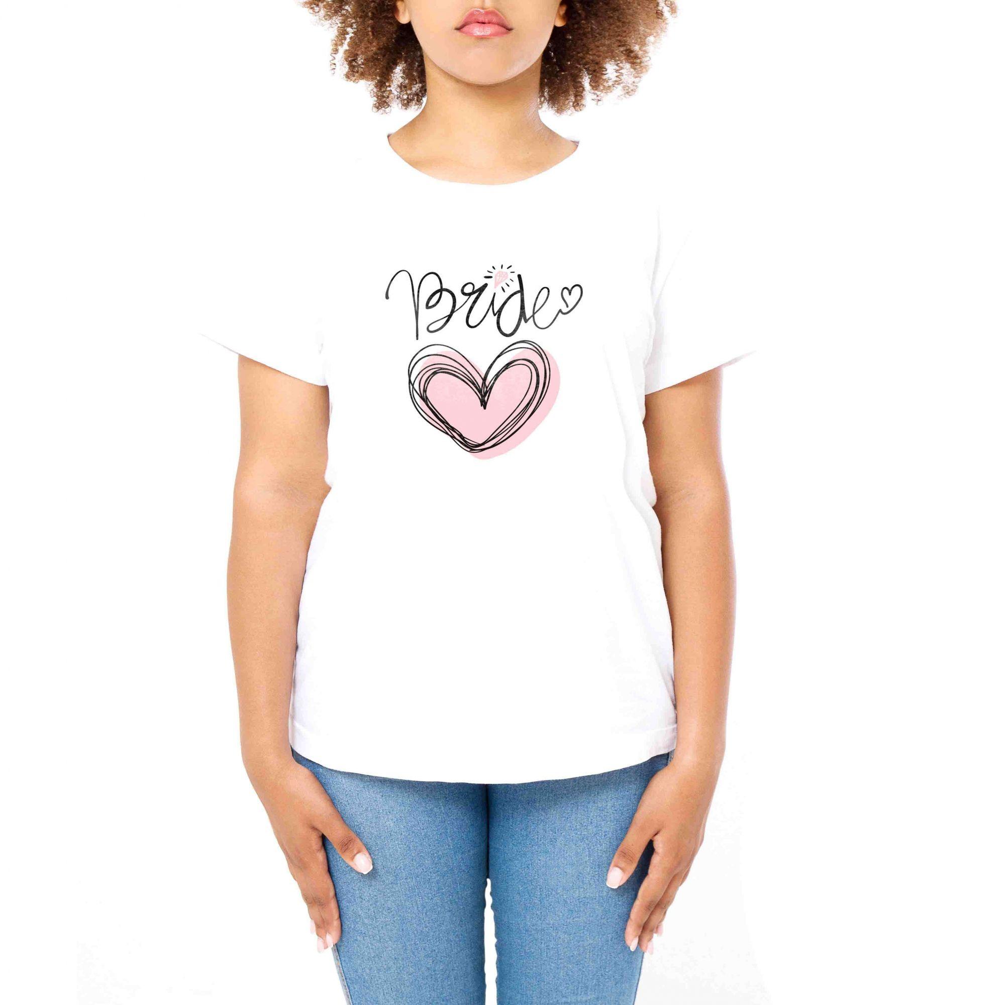 Camiseta Feminina Personalizada para Despedida de Solteira