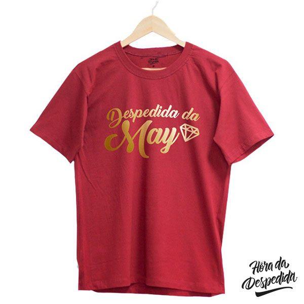 Camiseta Personalizada para Despedida de Solteira