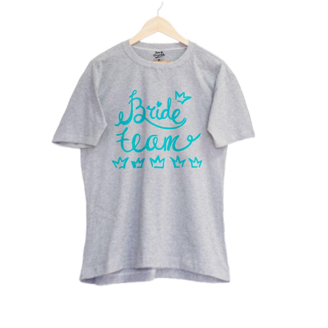 Camiseta Personalizada para Despedida de Solteira, Camiseta Team Bride, Camiseta Chá Bar