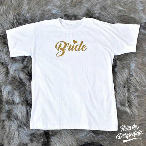 7947f1905 Camiseta Personalizada team bride para despedida de Solteira ...
