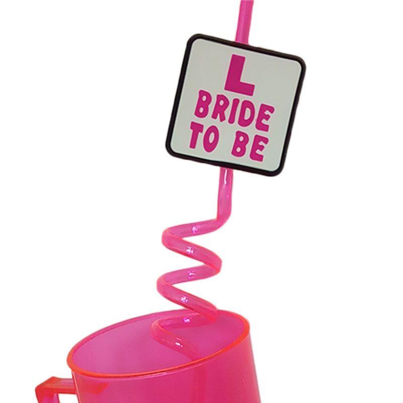 Canudo Bride Pronta Entrega para Despedida de Solteira
