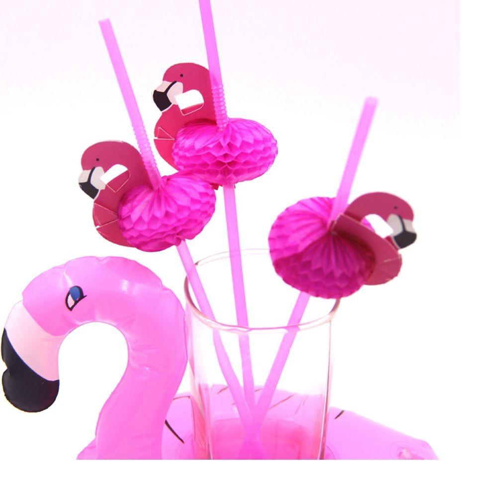 Canudos Flamingos para Despedida de Solteira