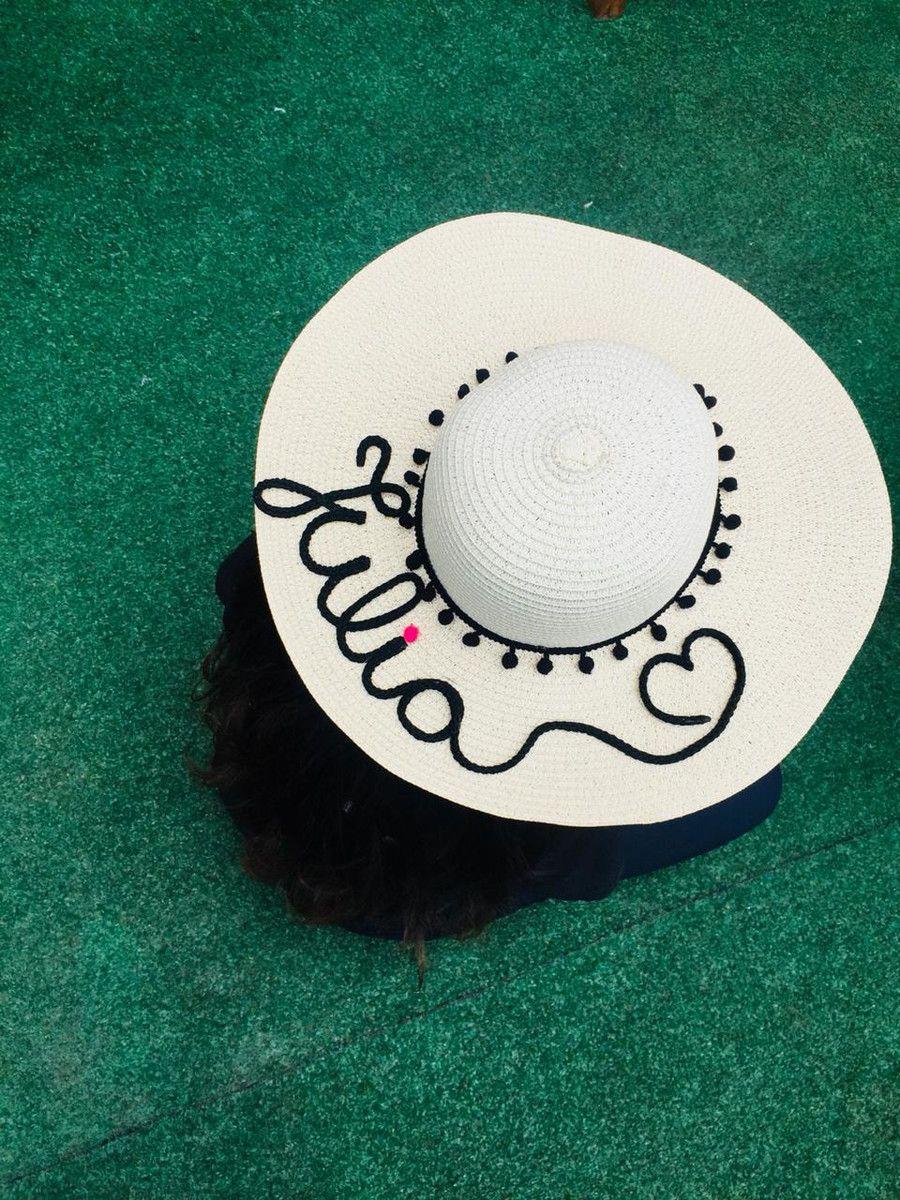Chapéu de Palha Personalizado para Despedida de Solteira