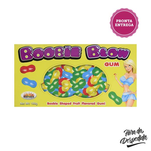 Chicletes Boobie Blow Gum Pronta Entrega para Despedida de Solteira