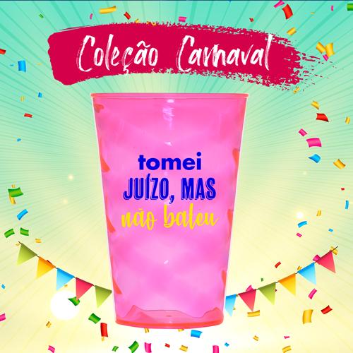 Copo Twister Carnaval Personalizado para Despedida de Solteira