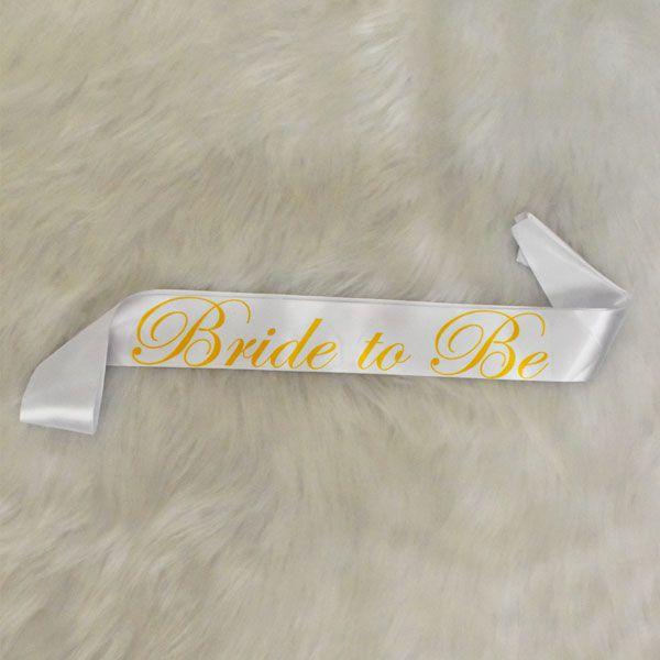 Faixa Bride To Be Pronta Entrega para Despedida de Solteira