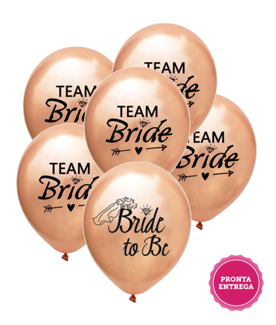 Kit Balões Bride to Be e Team Bride, Balões Decoração Despedida de Solteira, Balão Decoração Chá de Lingerie, Bexiga Decoração Despedida de Solteira, Bexiga decoração Chá de Lingerie