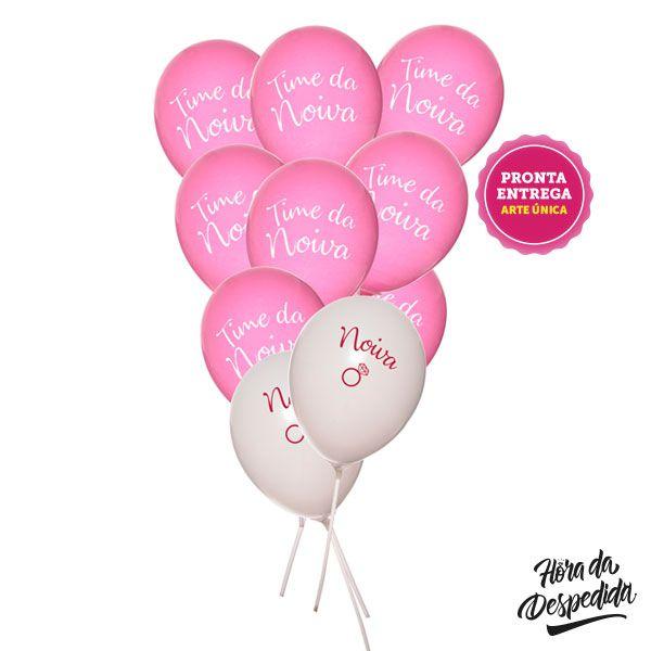 Kit Balões Noiva e Time da Noiva, Balões Decoração Despedida de Solteira, Balão Decoração Chá de Lingerie, Bexiga Decoração Despedida de Solteira, Bexiga decoração Chá de Lingerie