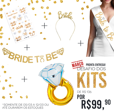 Kit Bride to Be Março