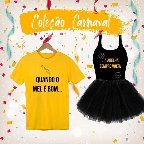 Kit Carnaval Abelhinha Pronta Entrega para Despedida de Solteira