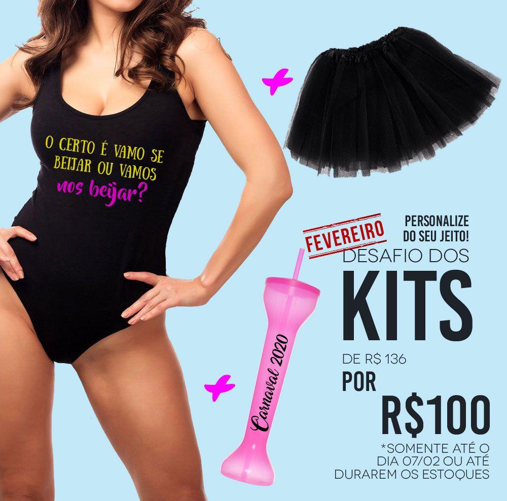 Kit Carnaval Personalizado para Despedida de Solteira