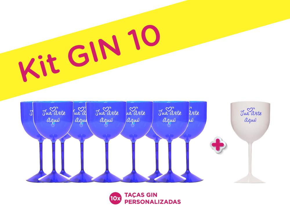 Kit Gin 10 Personalizado para Despedida de Solteira