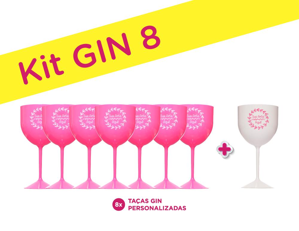 Kit Gin 8 para Despedida de Solteira
