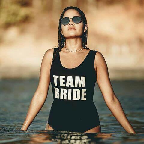 Kit Team Bride Personalizado para Despedida de Solteira