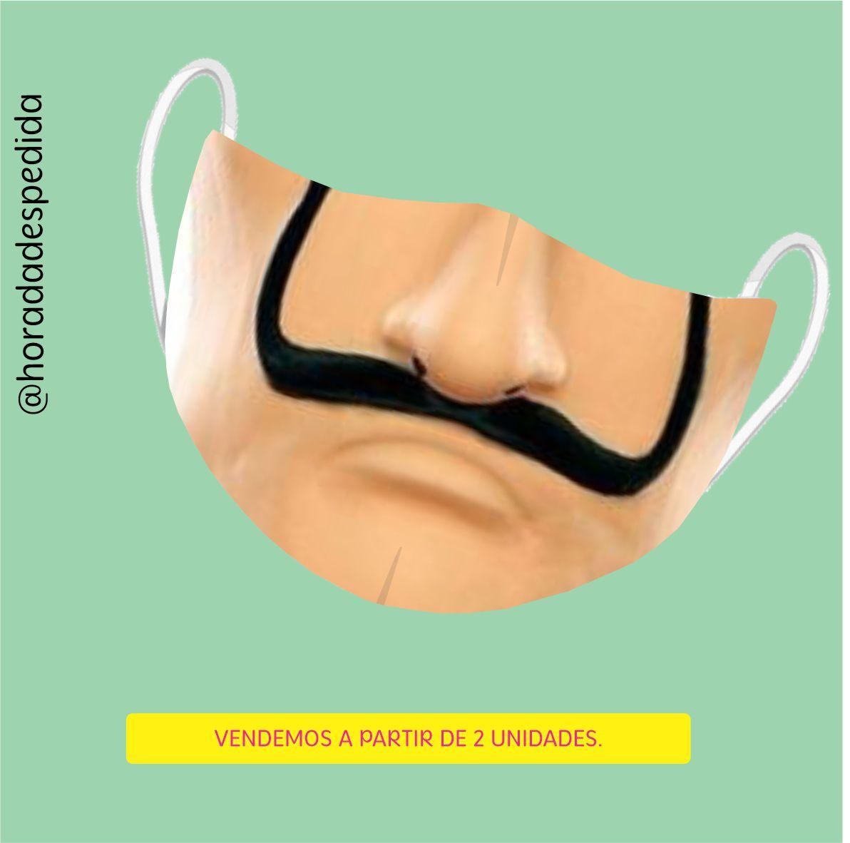 Máscara de Proteção em tecido mais filtro Personalizada