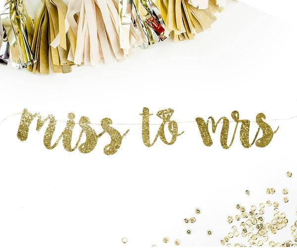 Miss to Mrs -  Banner decoração despedida de solteira, Banner decoração chá de lingerie, fundo de mesa chá de lingerie
