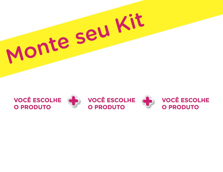 Monte um kit personalizado para sua despedida e cada integrante paga individualmente no site