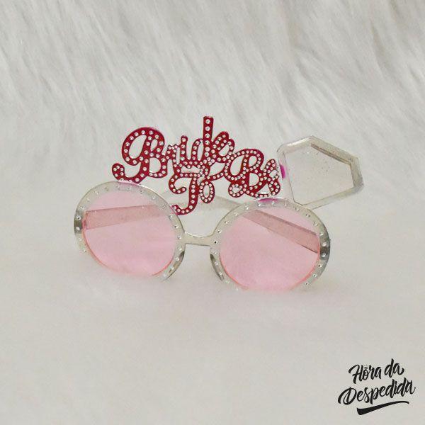 Óculos Bride To Be Diamante
