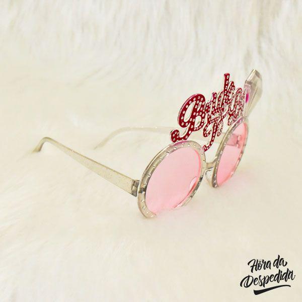 Óculos Bride To Be Diamante para Despedida de Solteira