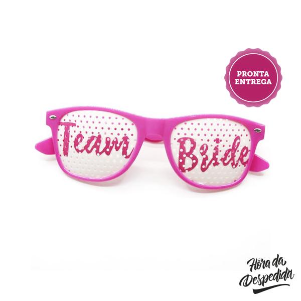 Óculos Team Bride para Despedida de Solteira
