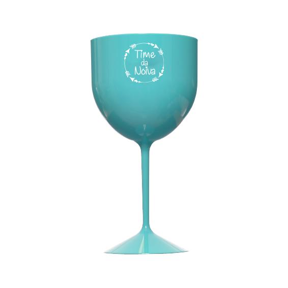 Taça de Gin 550ml Tiffany Time da Noiva Pronta Entrega para Despedida de Solteira