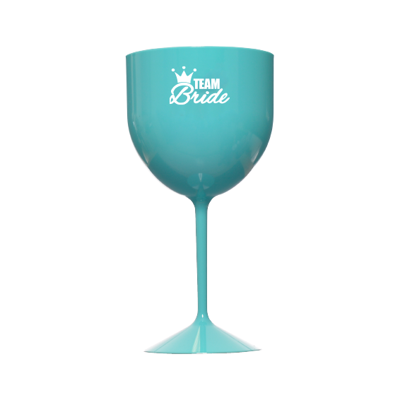 Taça de Gin 550ml Tiffany Team Bride Pronta Entrega para Despedida de Solteira