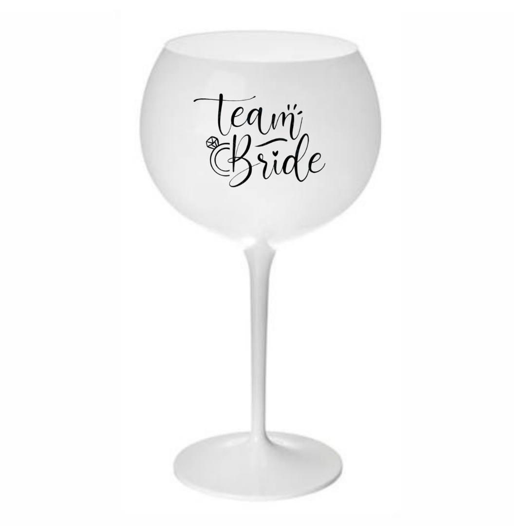 Taça de Gin London curves 600ml personalizada - Imita vidro